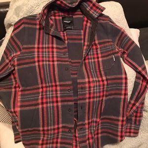 Burton flannel shirt